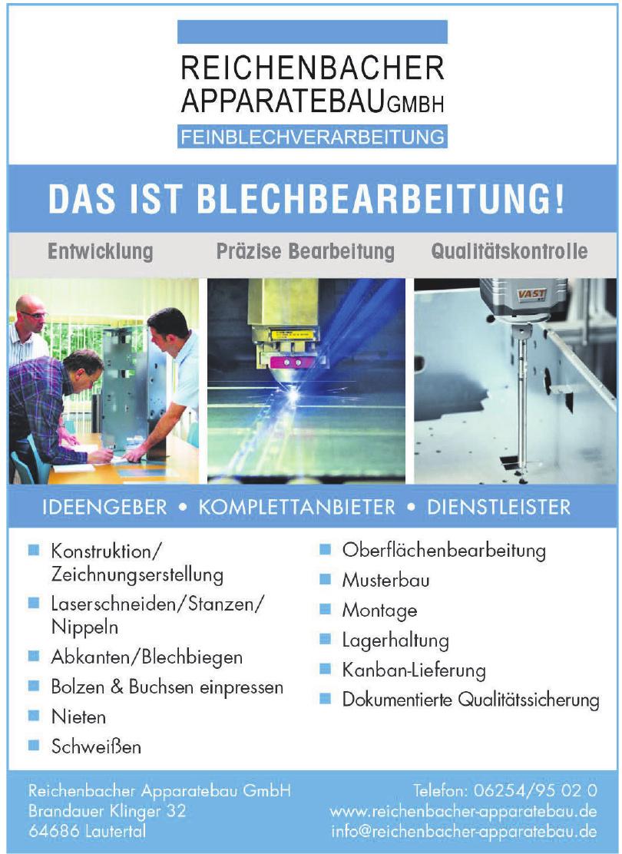 Reichenbacher Apparatebau GmbH