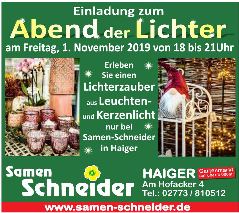 Samen Schneider