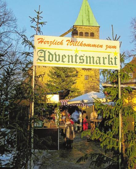 Der Sennfelder Adventsmarkt am Plan findet am Wochenende bereits zum 25. Mal statt. FOTOS: KLEMENS VOGEL