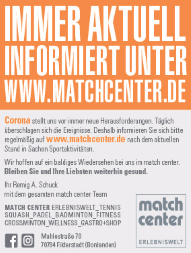 Match Center Erlebniswelt