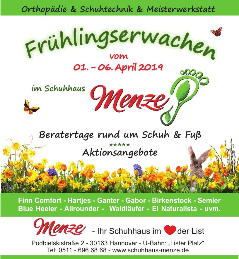"""8ce5d036330442 Hannovers Schuhhaus Menze lädt zum """"Frühlingserwachen"""" ein"""