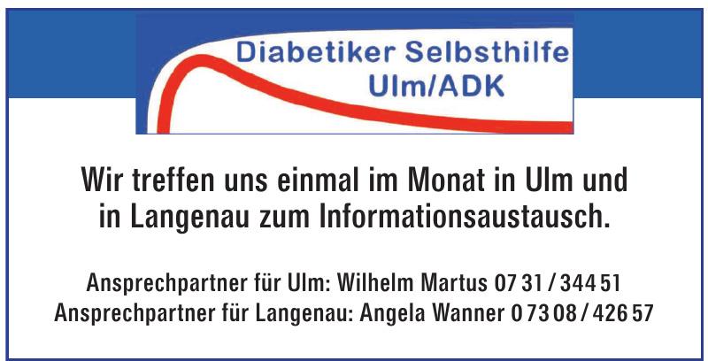 Diabetiker Selbsthilfe Ulm/ADK
