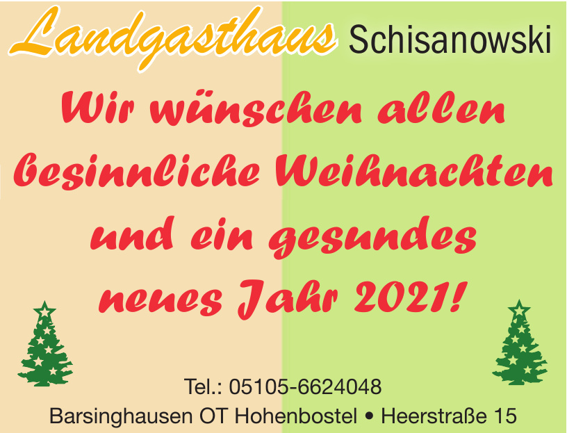 Barsinghausen OT Hohenbostel