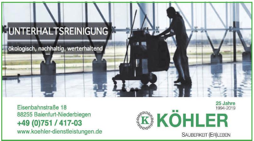 Köhler Dienstleistungen