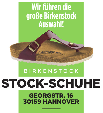 Stock-Schuhe