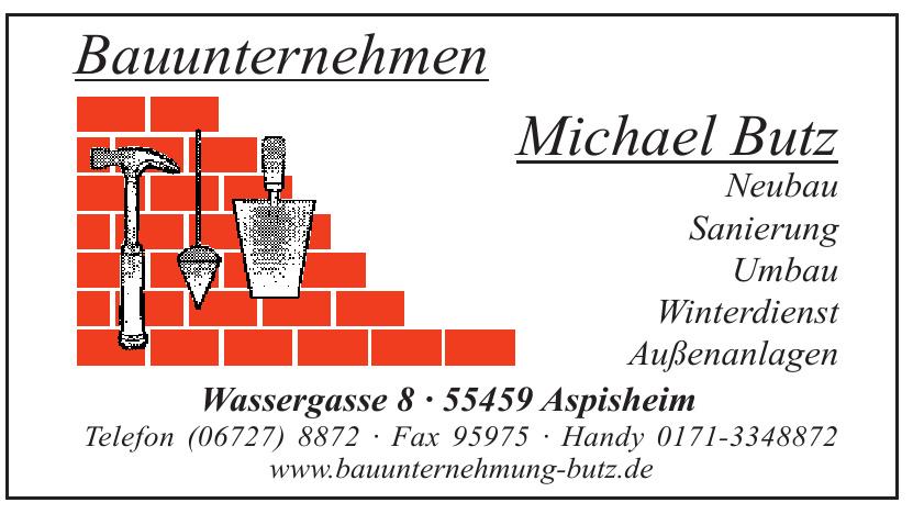 Bauunternehmen Michael Butz