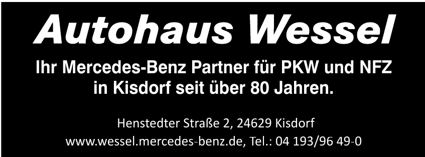 Autohaus Wessel GmbH & Co. KG
