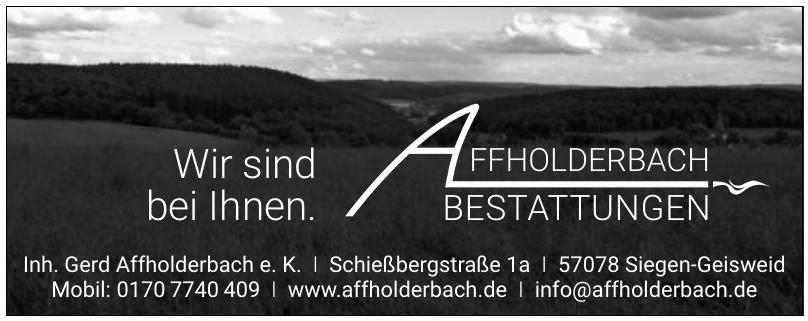 Inh. Gerd Affholderbach e. K.