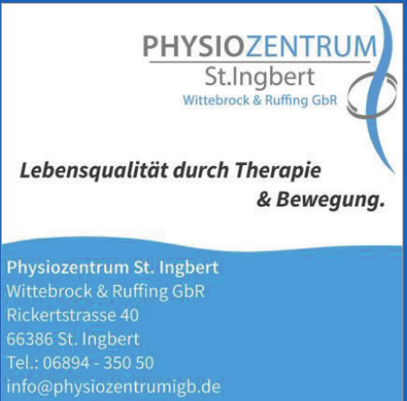 Physiozentrum St. Ingbert Wittebrock & Ruffing GbR