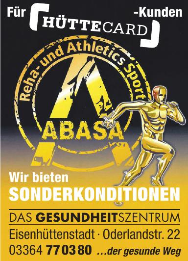Abasas - Reha- und Athletics Sport