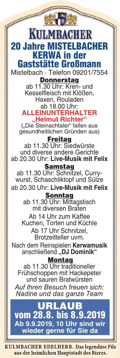 Mistelbacher Kerwa