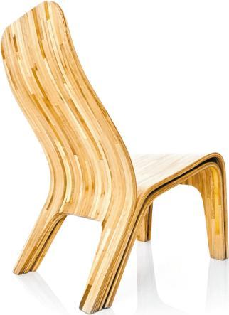 Neo-Ökologie: Stuhl aus schnell wachsendem Bambus. FOTO: ISTOCKPHOTO / B. MC ENTIRE