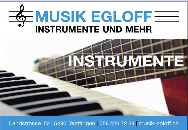 Musik Egloff