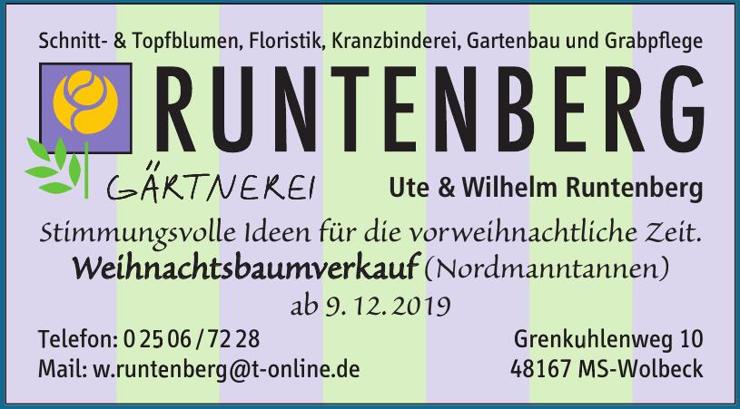 Runtenberg Gärtnerei