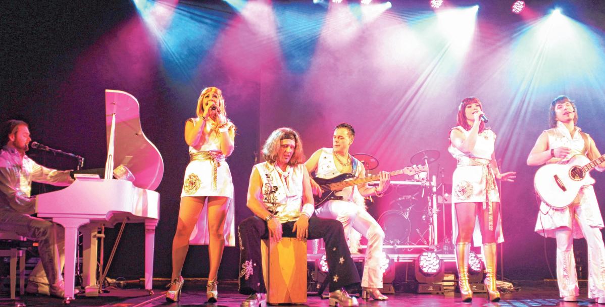 ABBA da capo spielen mit sechs Musikern die Welthits der schwedischen Band. FOTO: PRIVAT