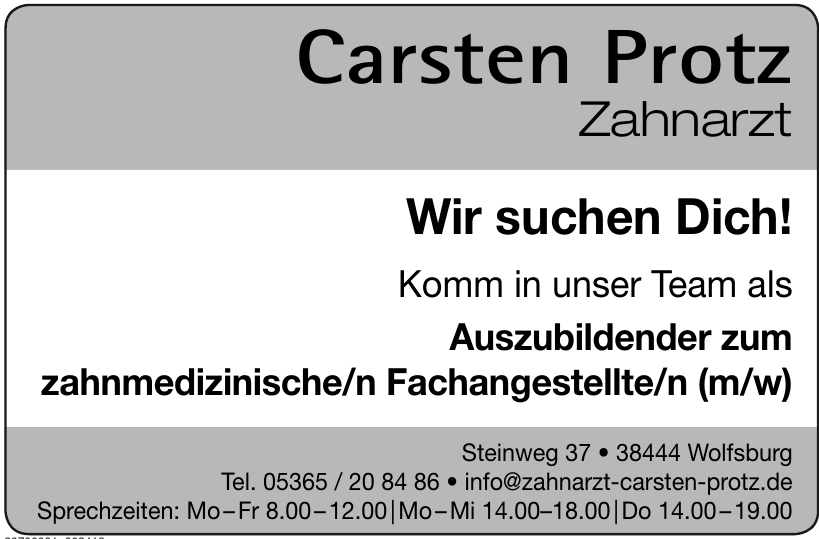 Carsten Protz Zahnarzt