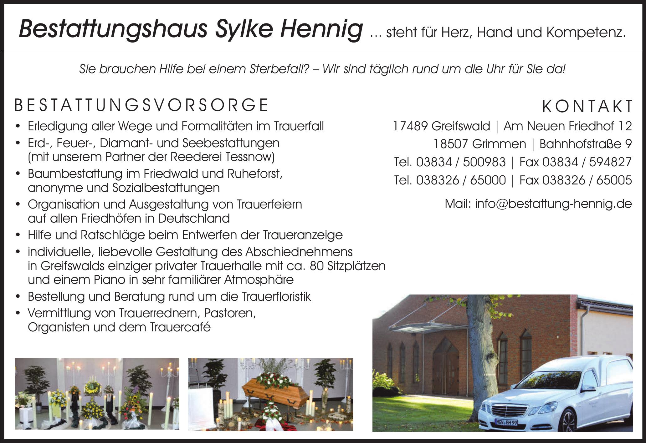 Bestattungshaus Sylke Hennig