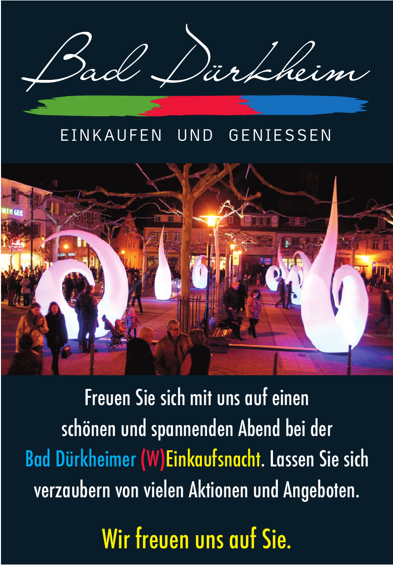 Bad Dürkheimer (W)Einkaufsnacht