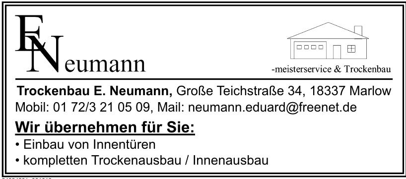 Trockenbau E. Neumann
