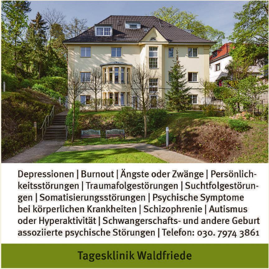 Tagesklinik Waldfriede