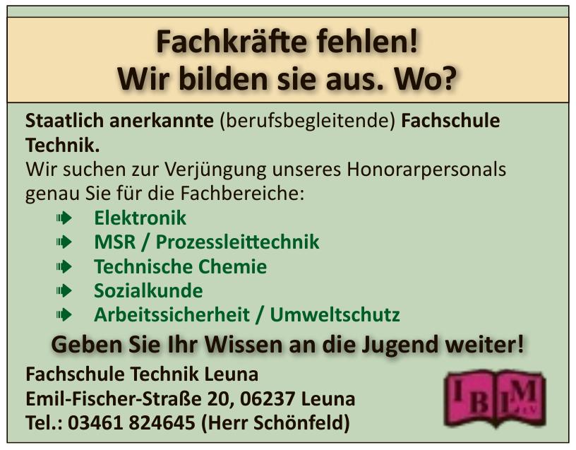 Fachschule Technik Leuna
