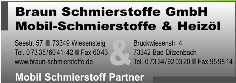 Braun Schmierstoffe GmbH