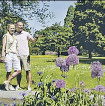 Der Kurpark Mölln lädt zum Spaziergang ein Foto: photocompany
