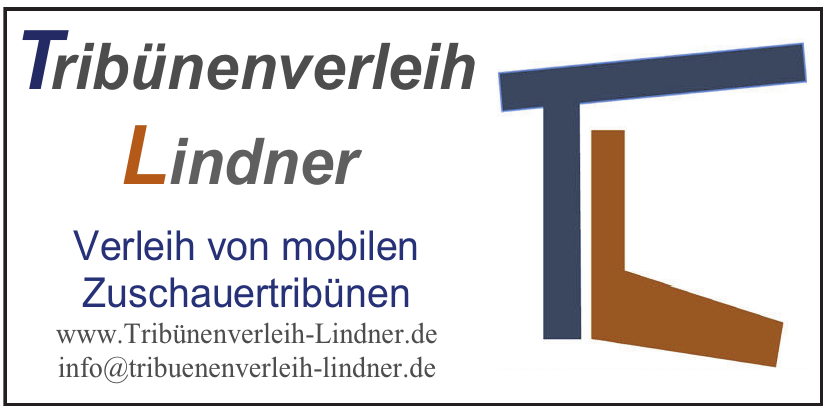 Tribünenverleih Lindner