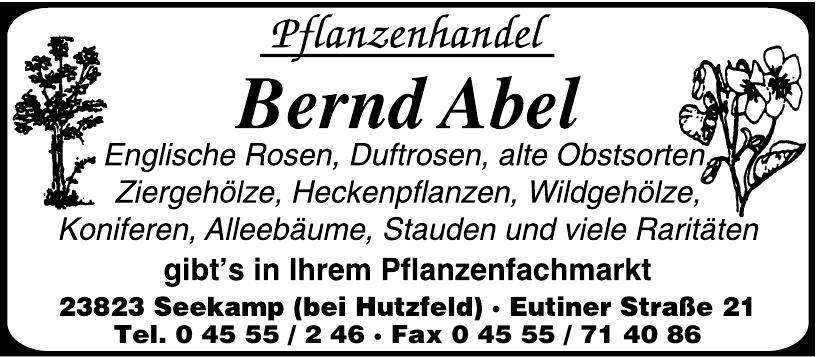 Pflanzenhandel Bernd Abel
