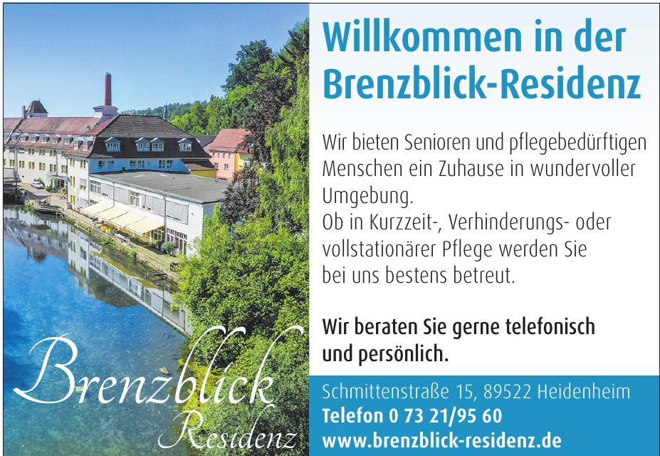 Brenzblick Residenz