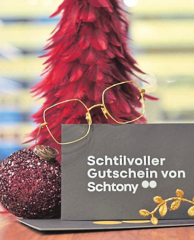 Ein Schtony-Gutschein ist immer eine gute Wahl. FOTO: SCHTONY
