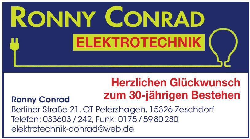 Ronny Condrad