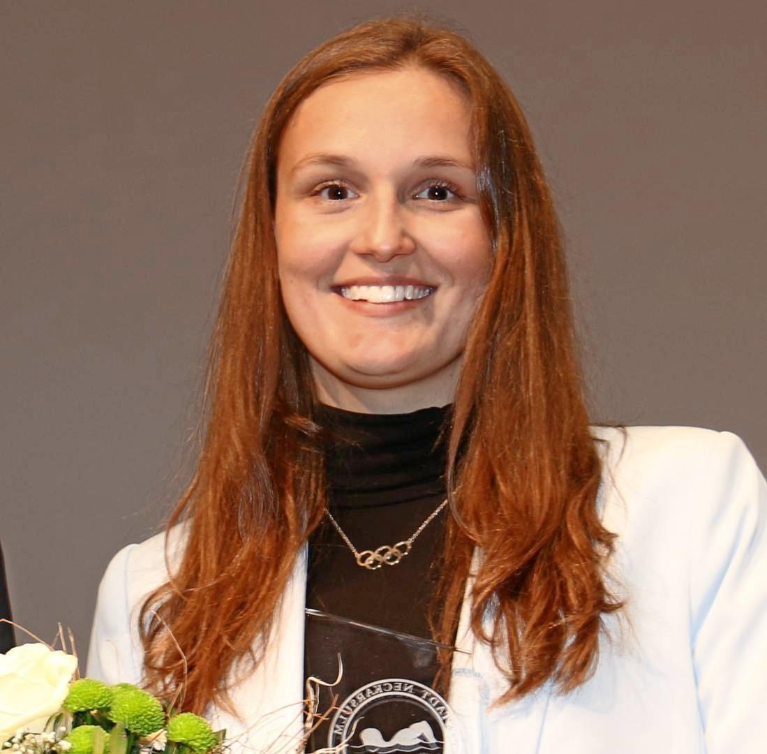 Schwimmerin Annika Bruhn wurde zur Sportlerin des Jahres gekürt. Fotos: snp