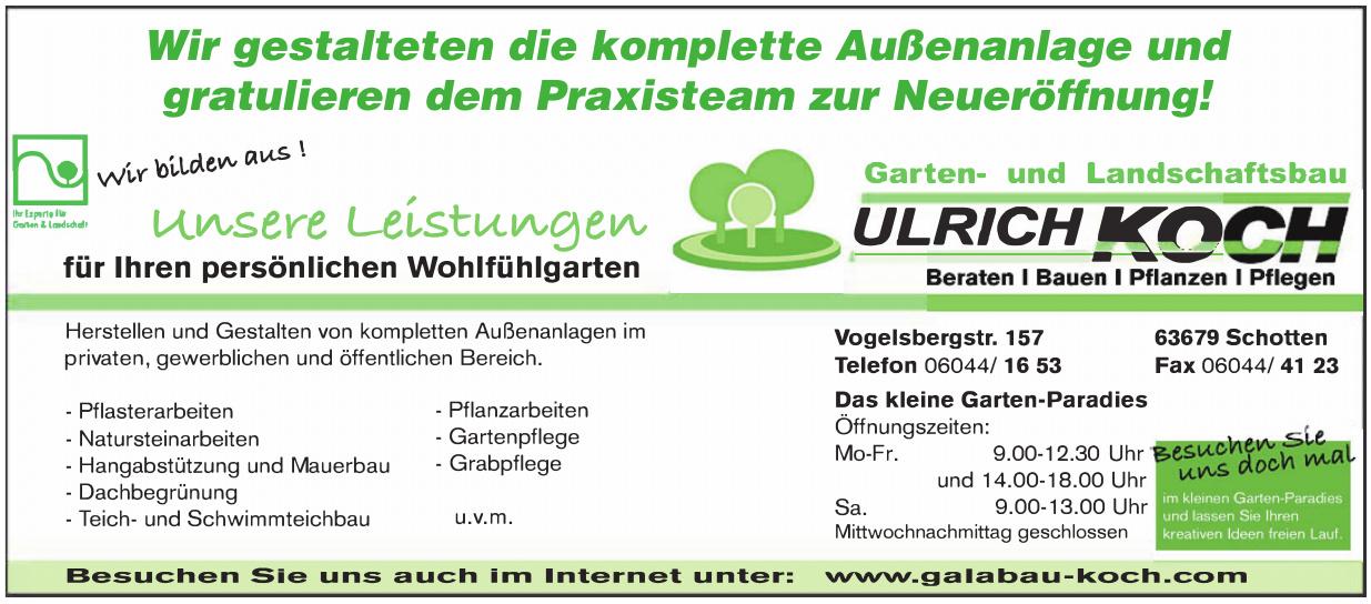 Garten- und Landschaftsbau Ulrich Koch