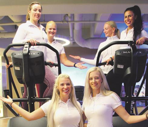 Im Sports Club wartet ein Team aus kompetenten und freundlichen Trainerinnen Foto: pr