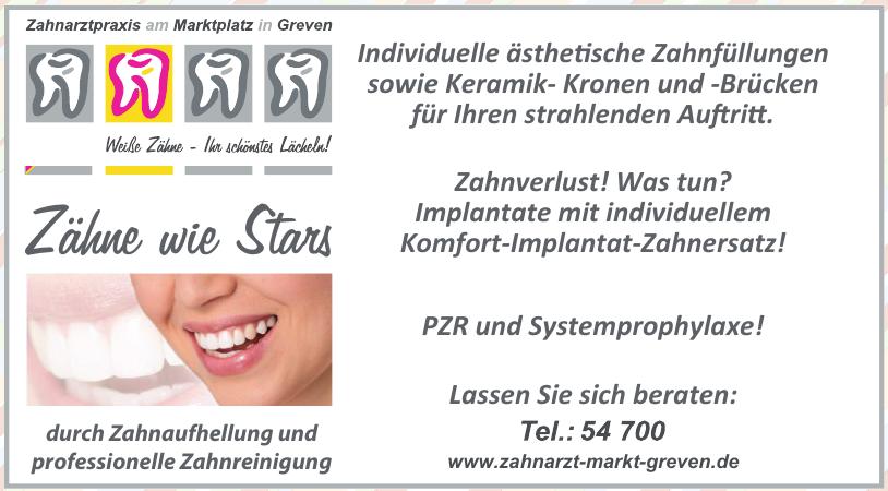 Zahnarztpraxis am Marktplatz in Greven