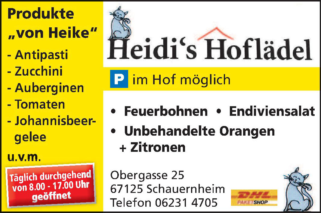 Heidi's Hoflädel