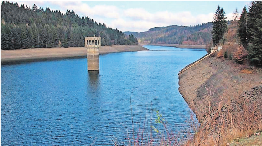 Die Ködeltalsperre bei Nordhalben ist eine der wichtigsten Grundlagen für die Trinkwasserversorgung der Bevölkerung in der Region. Foto: FWO