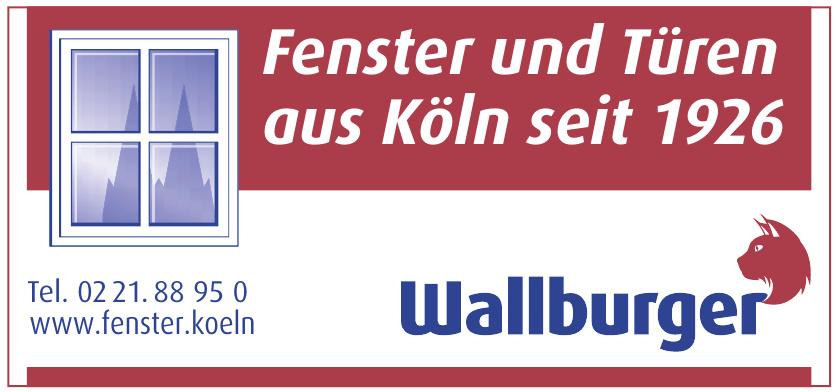 Wallburger Fenster | Türen | Sicherheit