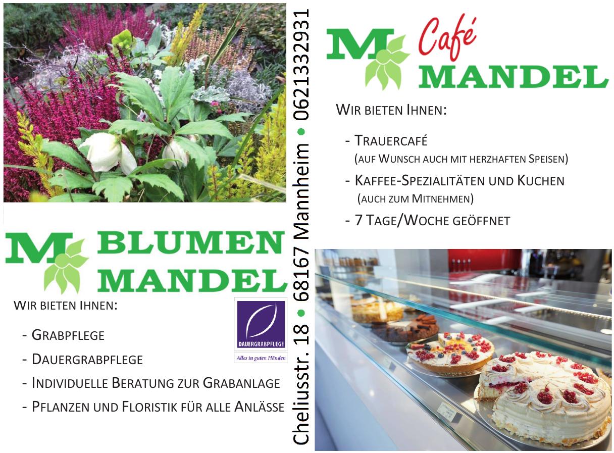 Blumen Mandel