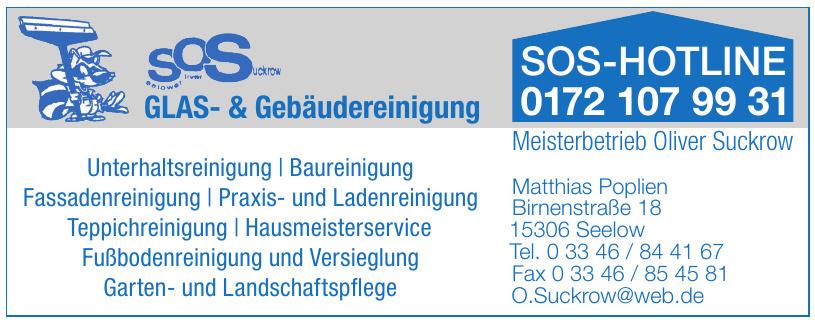 SOS GLAS- & Gebäudereinigung