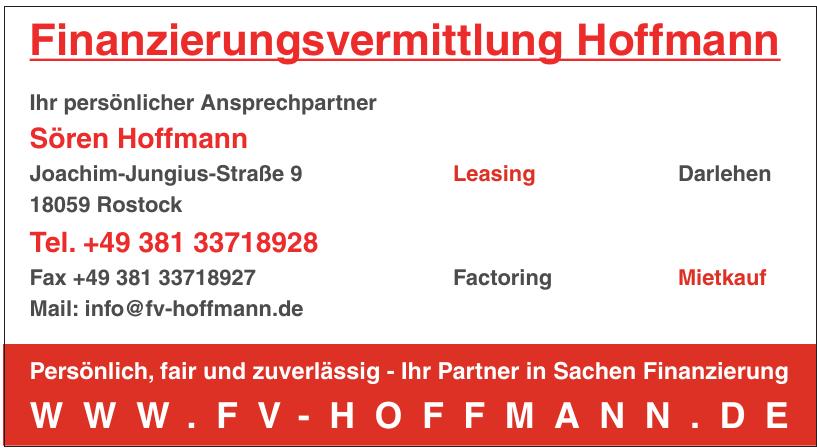 Finanzierungsvermittlung Hoffmann