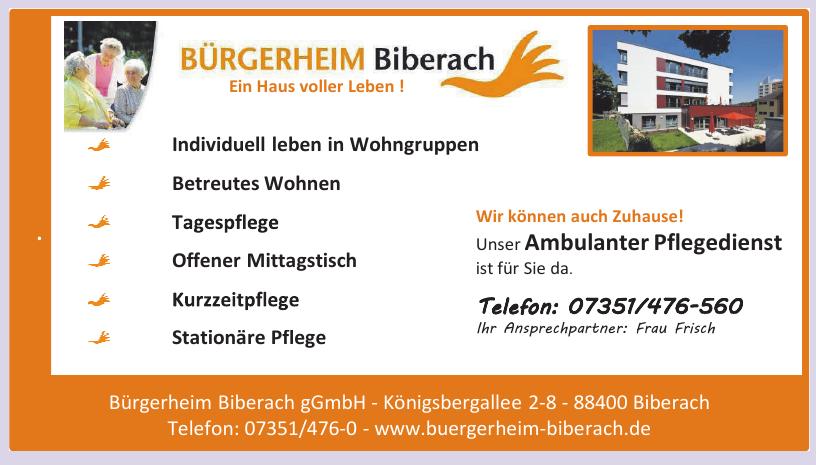 Bürgerheim Biberach gGmbH