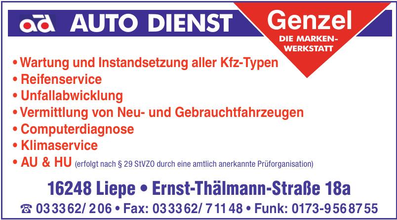 Auto Dienst Genzel