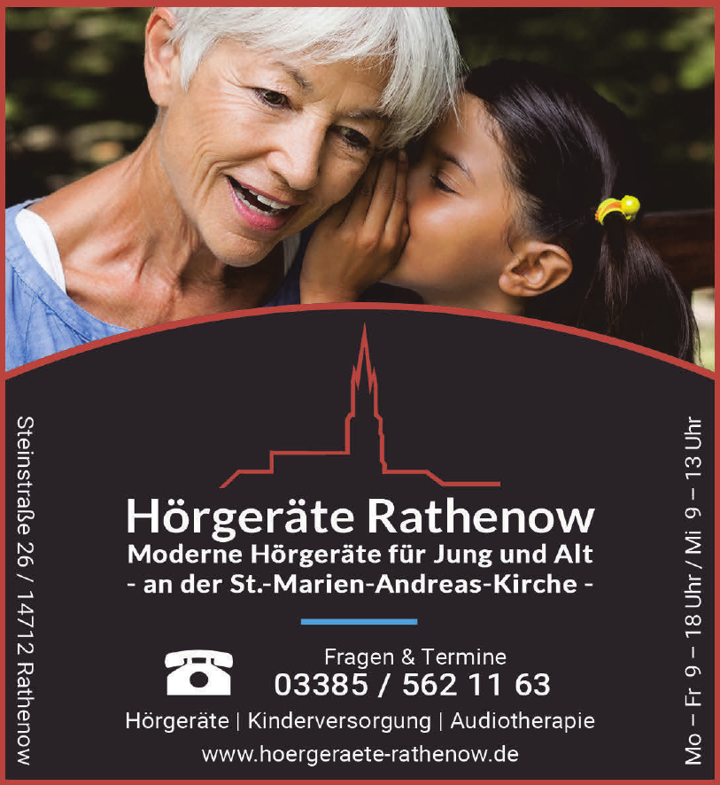 Hörgeräte Rathenow