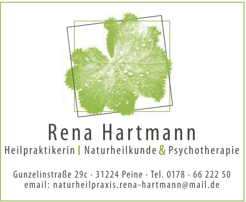 Rena Hartmann Heilpraktikerin, Naturheilkunde & Psychotherapie