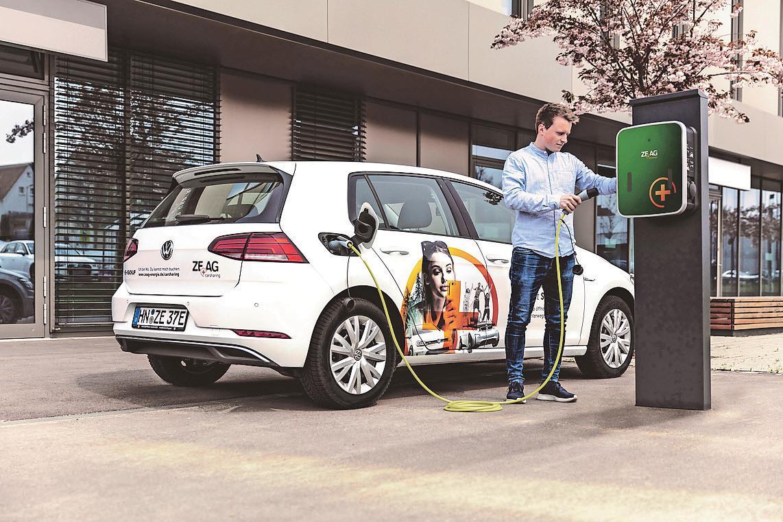 """Einfach mal den """"Mo"""" nehmen: Das Carsharing-Angebot der Zeag ist unkompliziert, flexibel, günstig und nicht zuletzt auch klimafreundlich."""