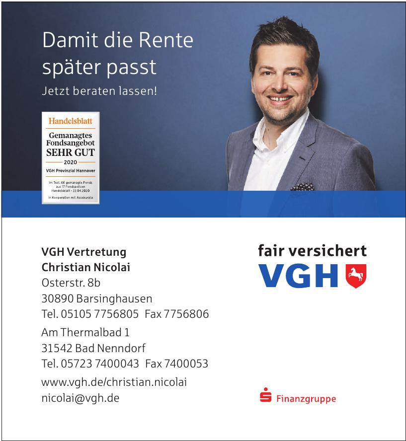 VGH Vertretung Christian Nicolai