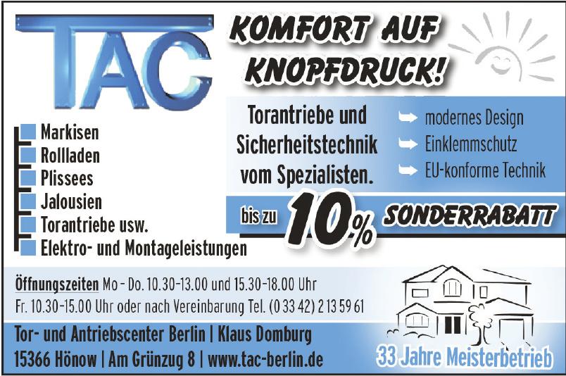 Tor- und Antriebscenter Berlin