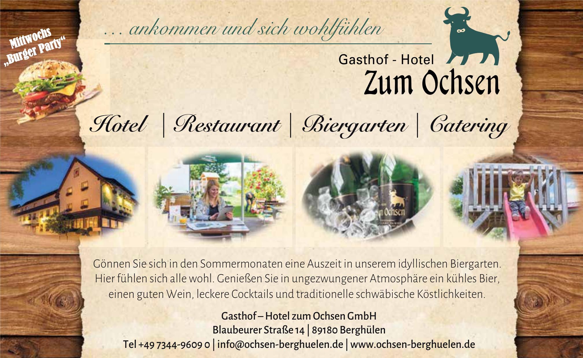 Gasthof – Hotel zum Ochsen GmbH